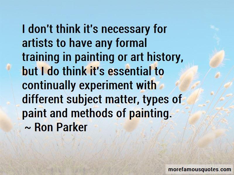 Ron Parker Quotes Pictures 3