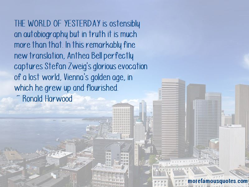 Ronald Harwood Quotes Pictures 4