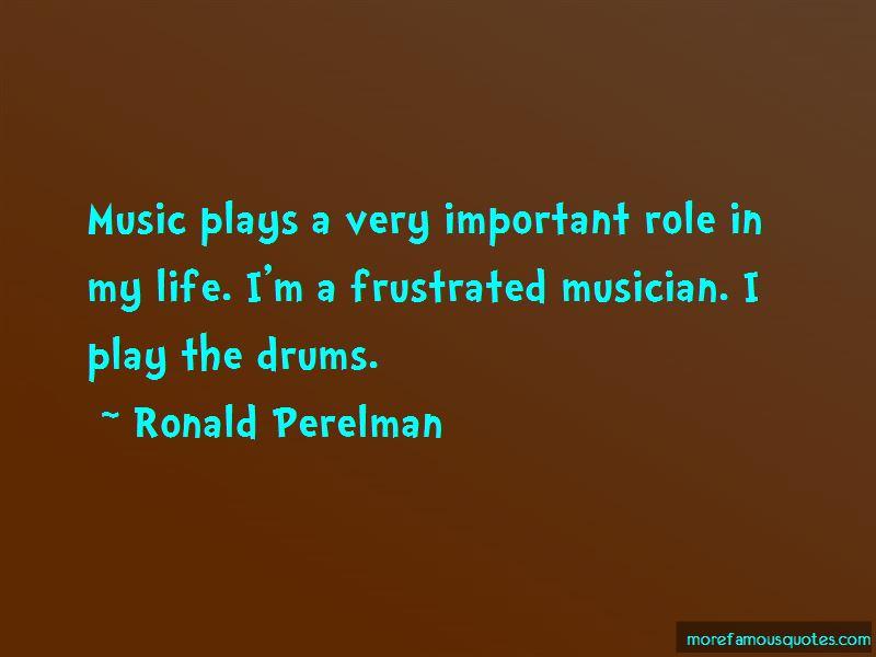 Ronald Perelman Quotes Pictures 2