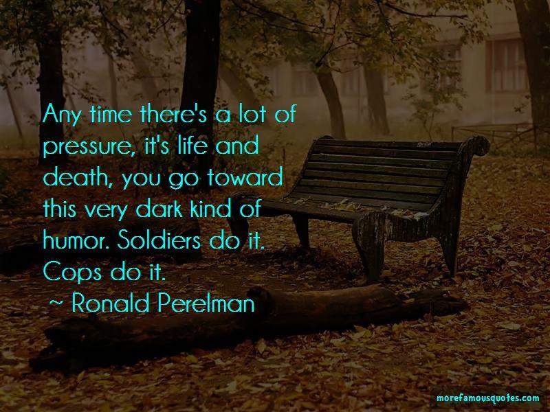 Ronald Perelman Quotes Pictures 4