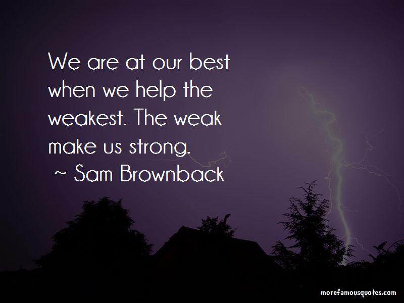 Sam Brownback Quotes Pictures 3