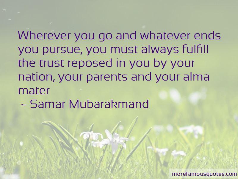 Samar Mubarakmand Quotes