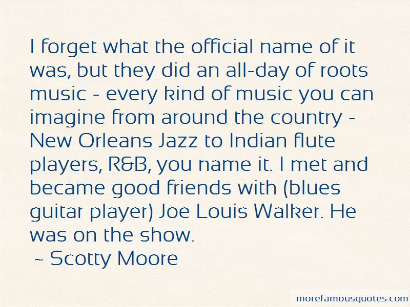 Scotty Moore Quotes Pictures 3
