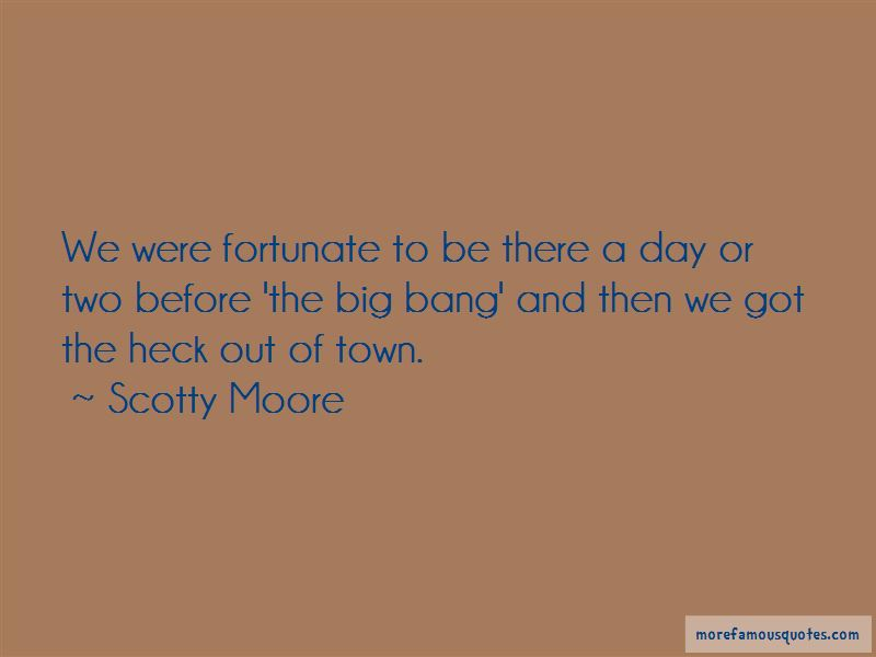 Scotty Moore Quotes