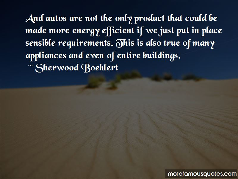 Sherwood Boehlert Quotes