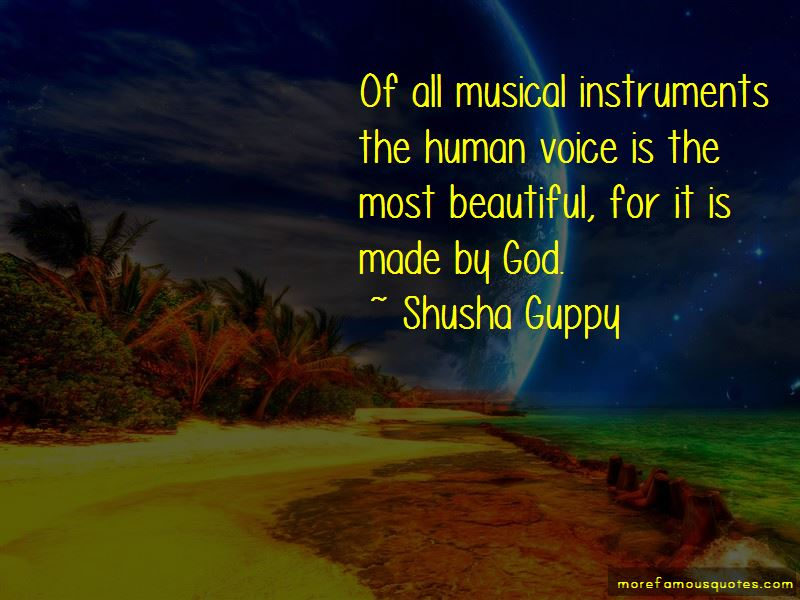 Shusha Guppy Quotes