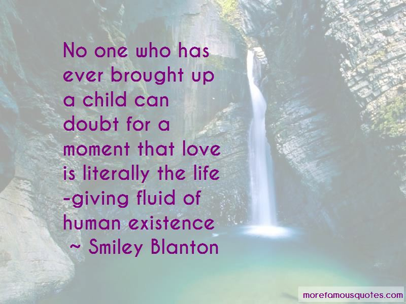 Smiley Blanton Quotes