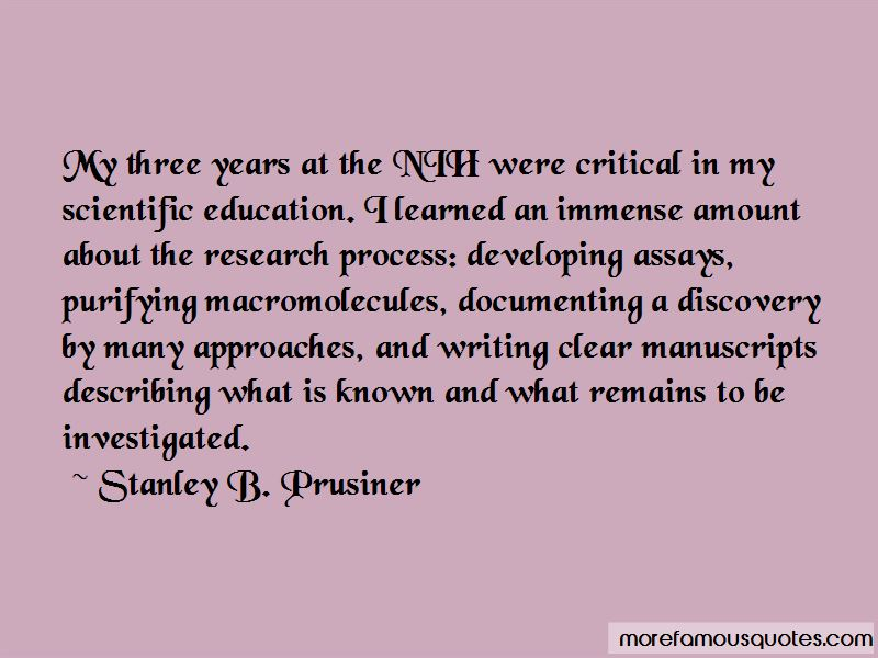 Stanley B. Prusiner Quotes Pictures 4