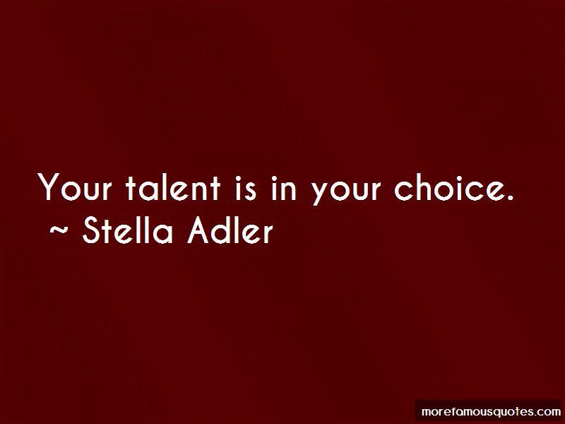 Stella Adler Quotes Pictures 2