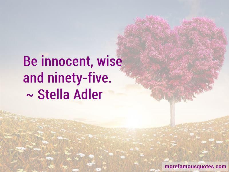 Stella Adler Quotes Pictures 4