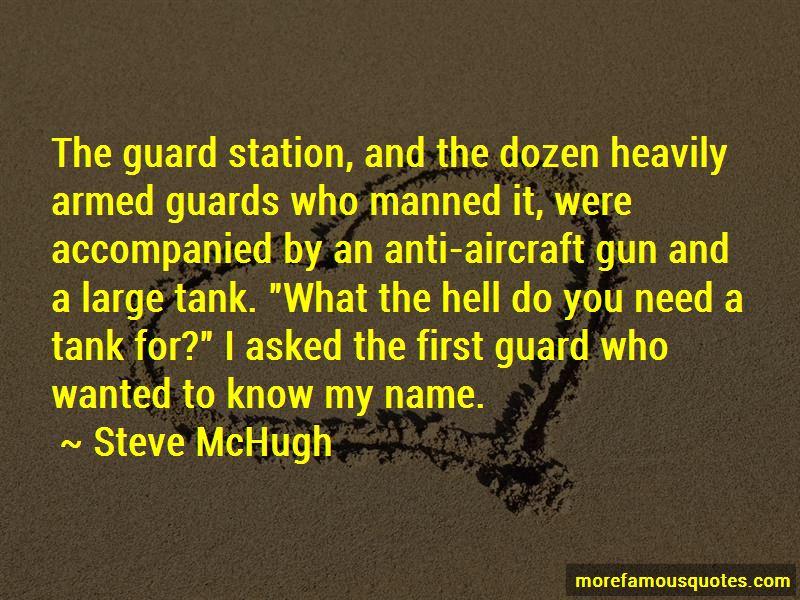 Steve McHugh Quotes