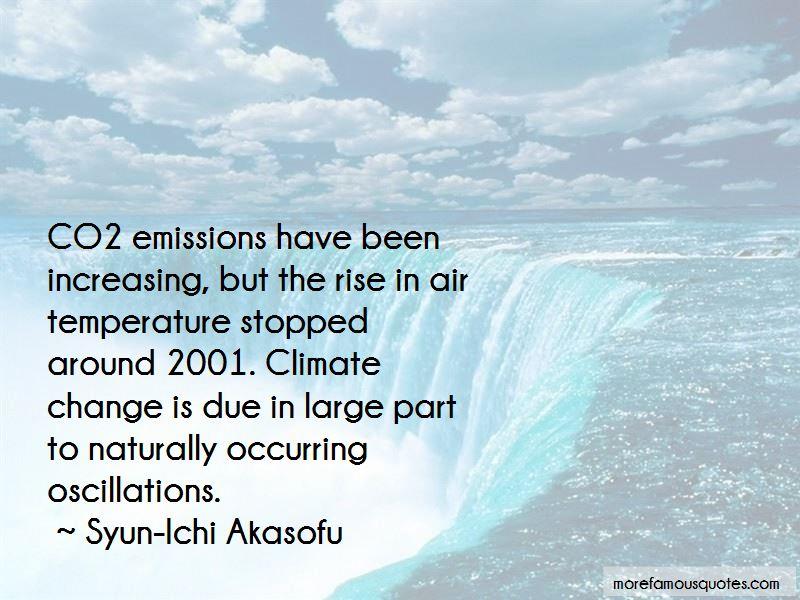 Syun-Ichi Akasofu Quotes