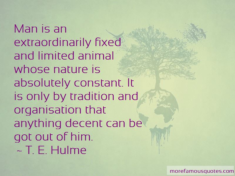 T. E. Hulme Quotes Pictures 2