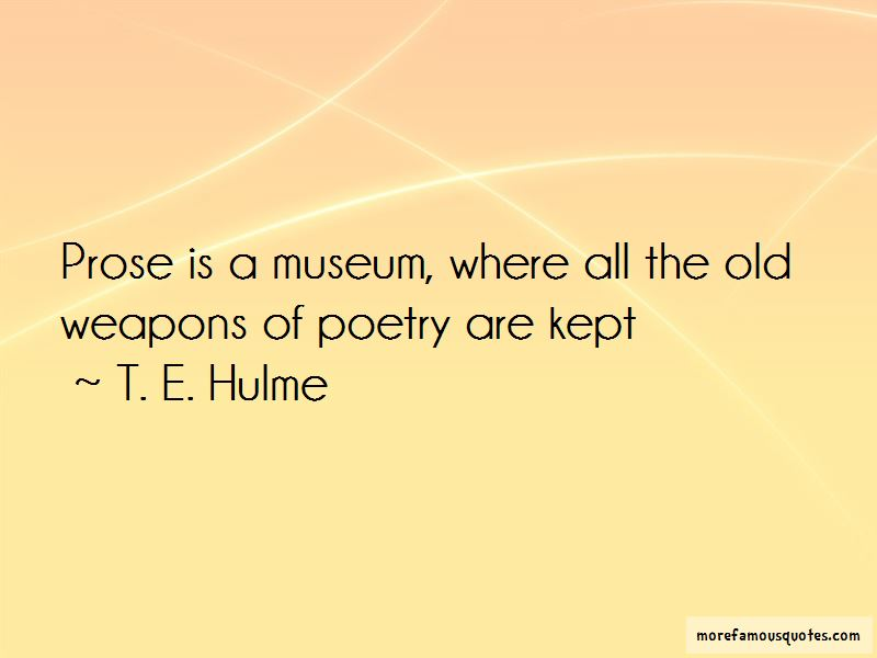 T. E. Hulme Quotes Pictures 4