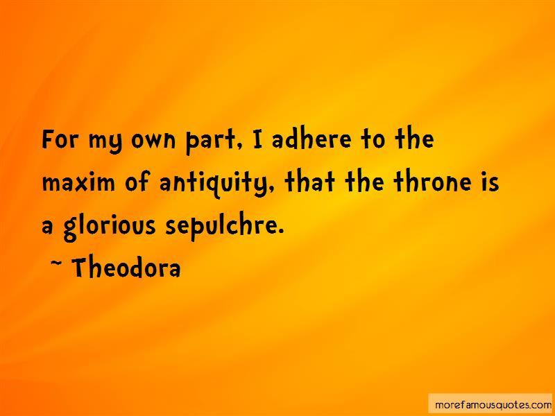 Theodora Quotes Pictures 2