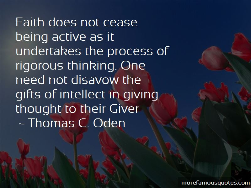 Thomas C. Oden Quotes Pictures 4