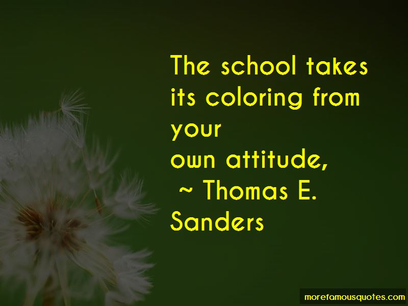 Thomas E. Sanders Quotes Pictures 2