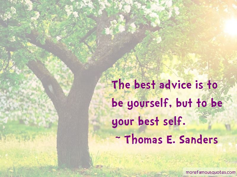 Thomas E. Sanders Quotes Pictures 3