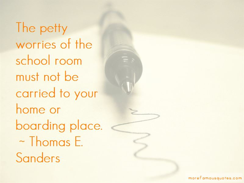 Thomas E. Sanders Quotes Pictures 4