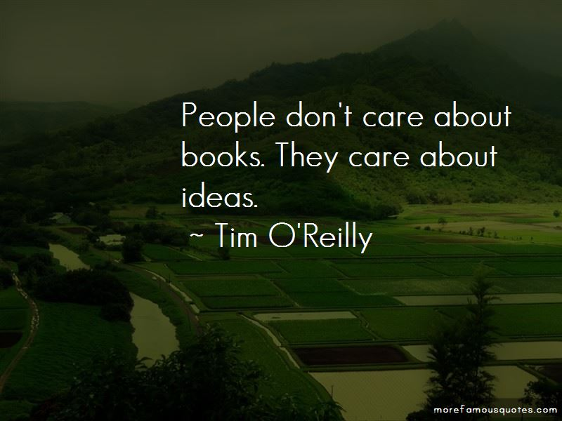 Tim O'Reilly Quotes