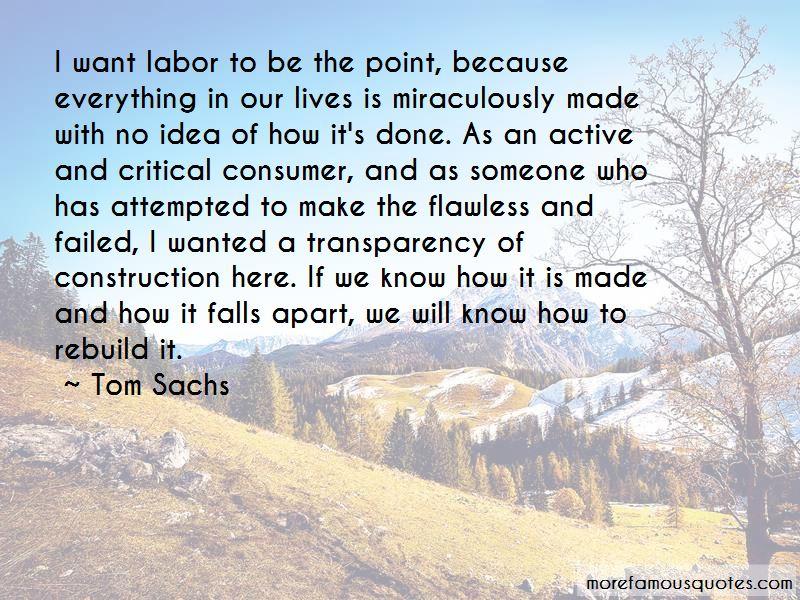Tom Sachs Quotes