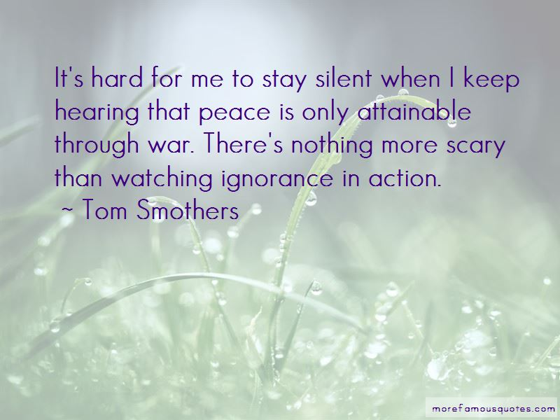 Tom Smothers Quotes Pictures 2