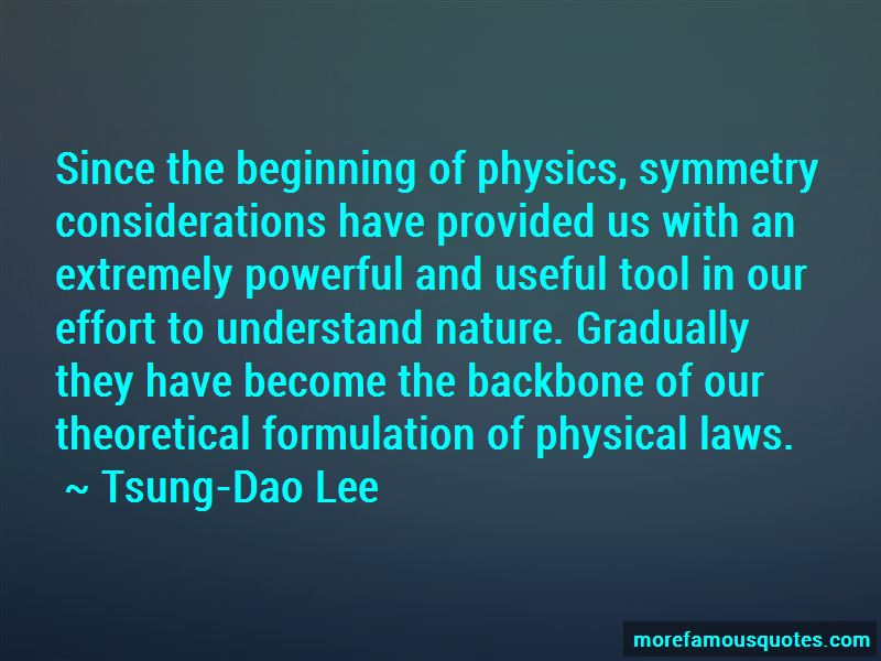 Tsung-Dao Lee Quotes