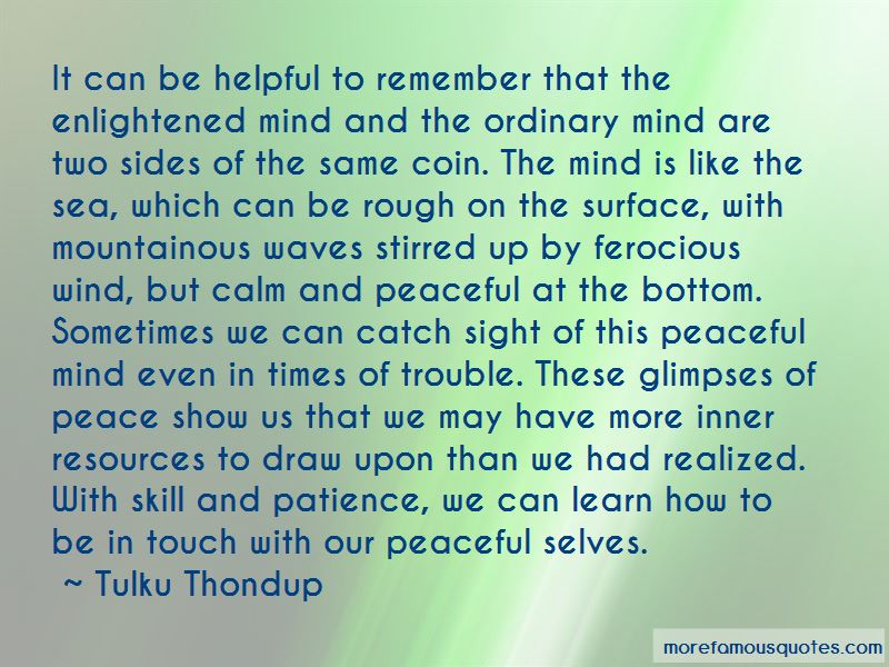 Tulku Thondup Quotes Pictures 2