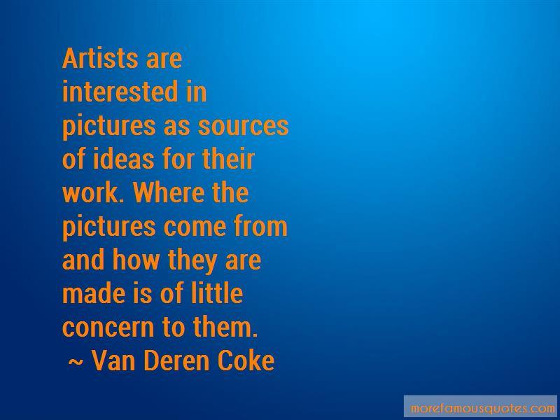 Van Deren Coke Quotes