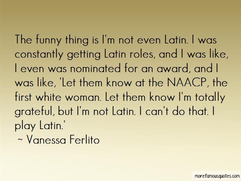 Vanessa Ferlito Quotes Pictures 4