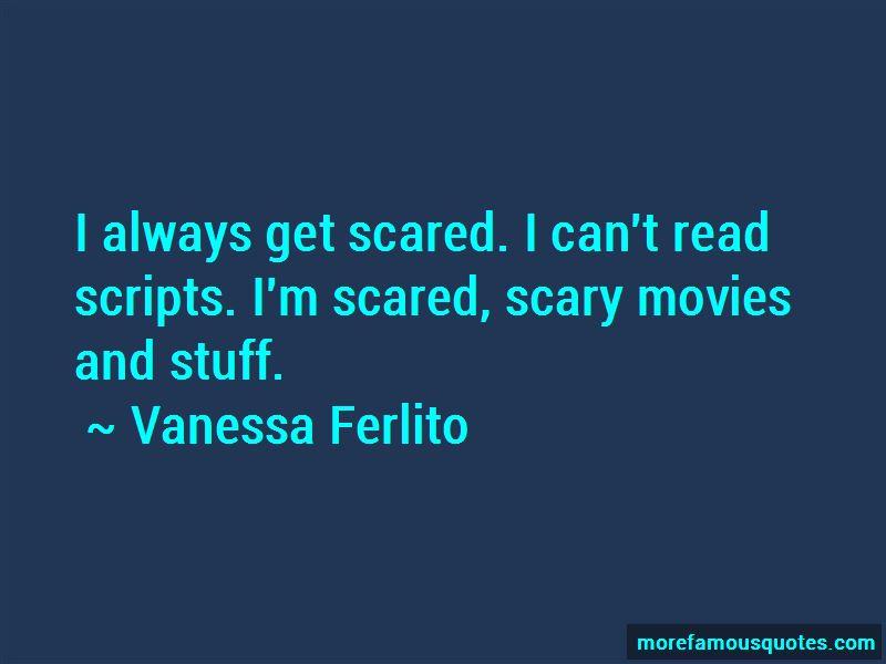 Vanessa Ferlito Quotes