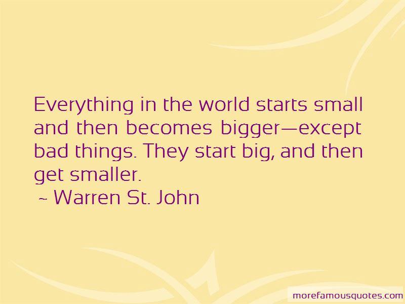 Warren St. John Quotes Pictures 2