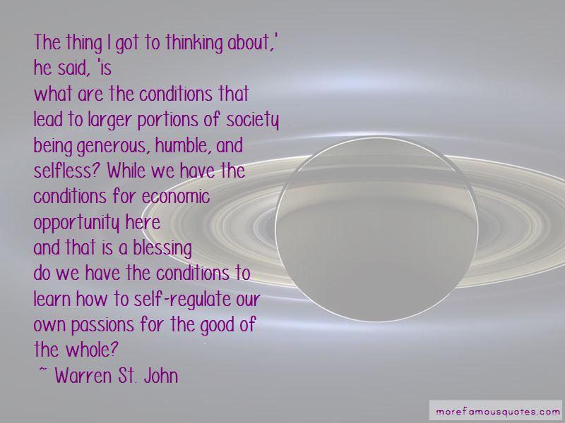 Warren St. John Quotes