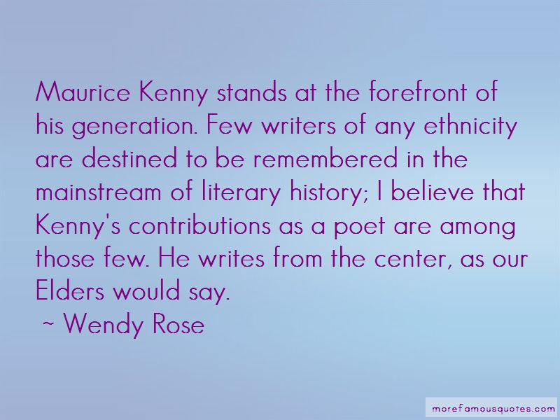 Wendy Rose Quotes Pictures 3