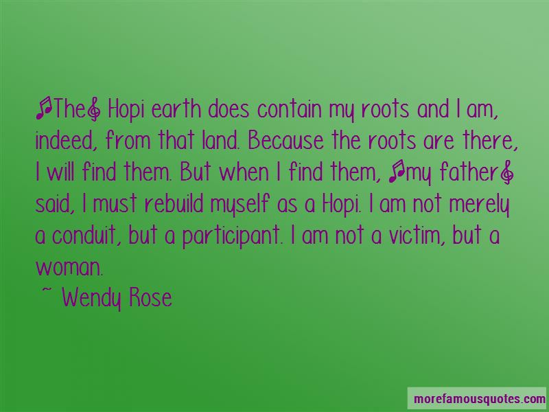 Wendy Rose Quotes