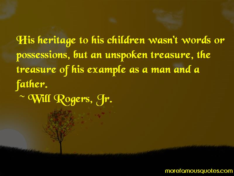 Will Rogers, Jr. Quotes