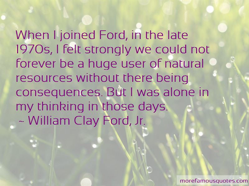 William Clay Ford, Jr. Quotes