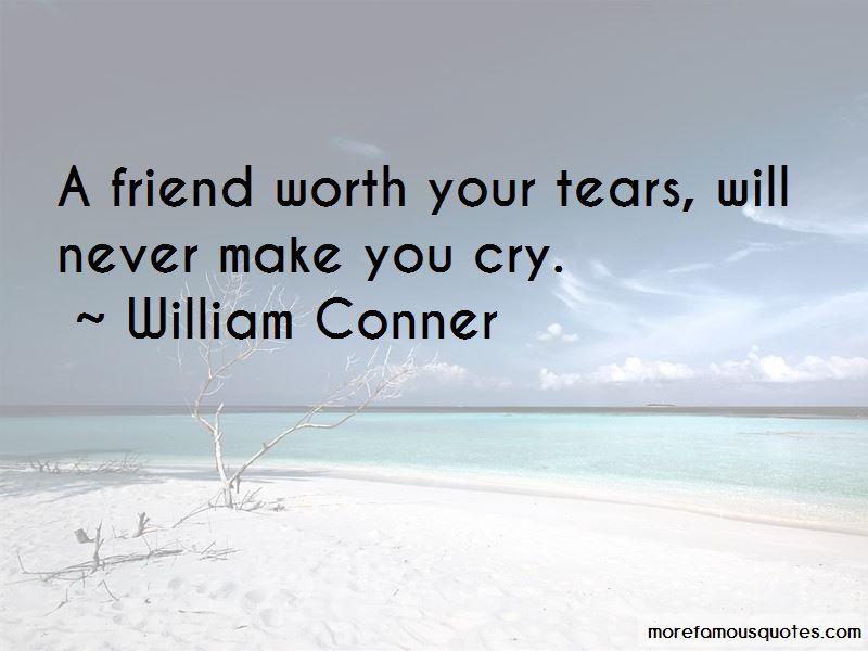 William Conner Quotes