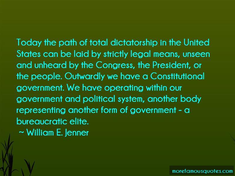 William E. Jenner Quotes