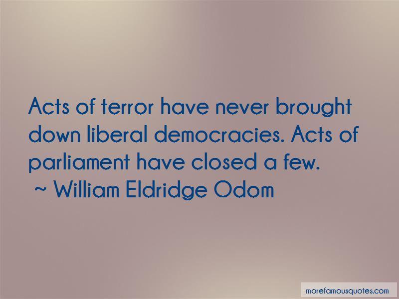 William Eldridge Odom Quotes Pictures 2