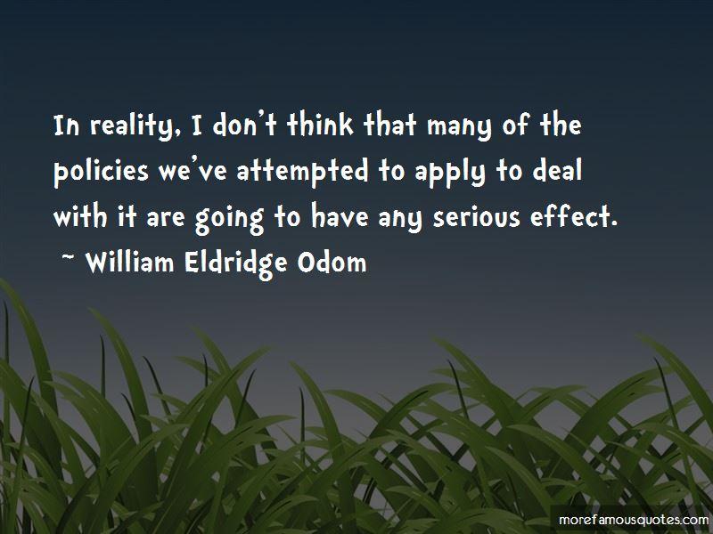 William Eldridge Odom Quotes Pictures 3