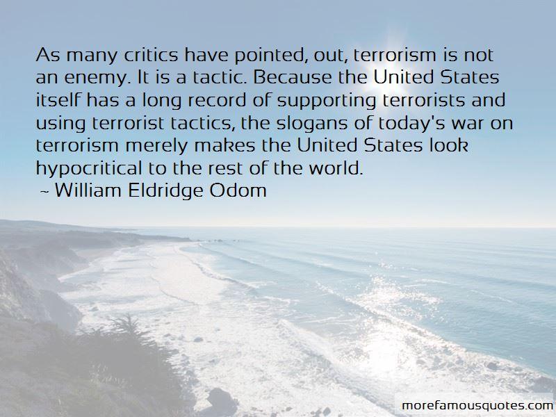William Eldridge Odom Quotes