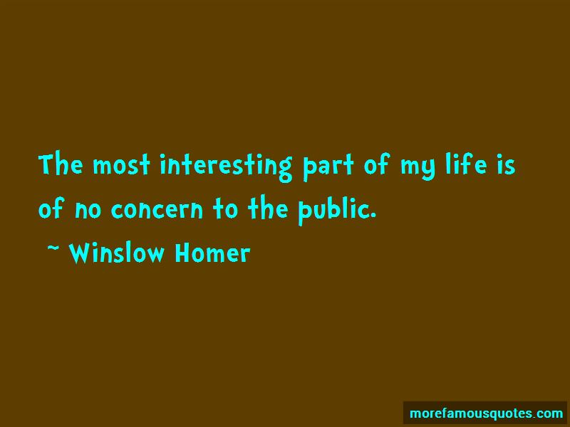 Winslow Homer Quotes Pictures 4