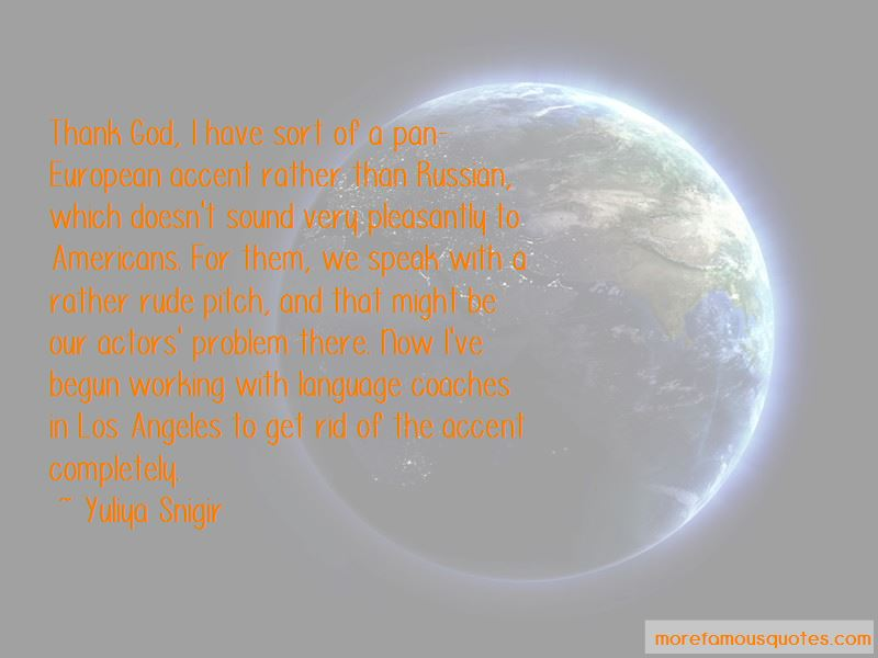 Yuliya Snigir Quotes Pictures 2