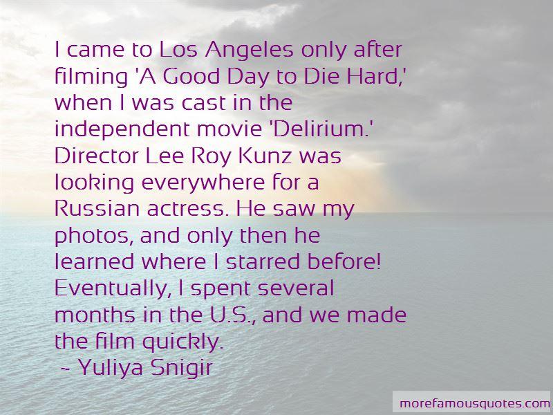 Yuliya Snigir Quotes Pictures 3