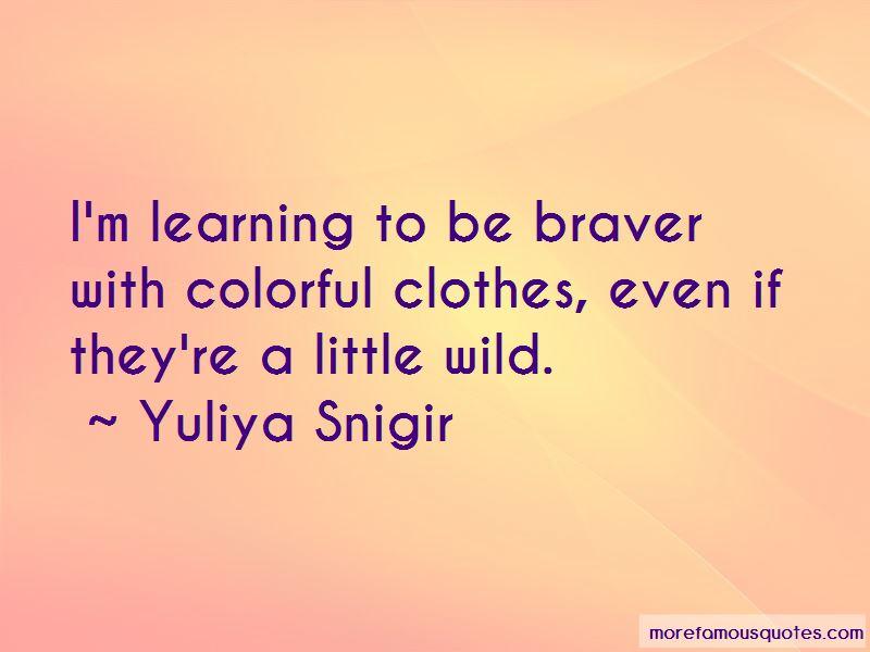 Yuliya Snigir Quotes Pictures 4