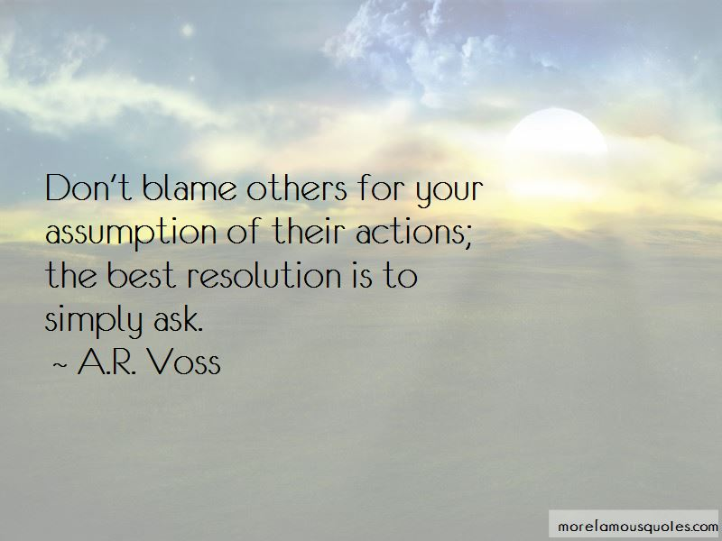 A.R. Voss Quotes Pictures 3