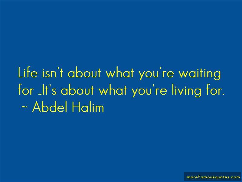 Abdel Halim Quotes