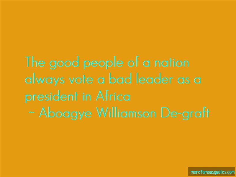 Aboagye Williamson De-graft Quotes Pictures 2