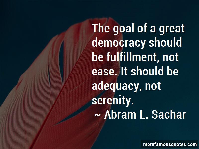Abram L. Sachar Quotes Pictures 2